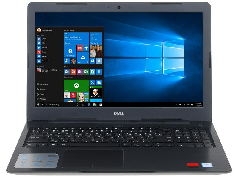 Ноутбук Dell Inspiron 5567 5567-7904 (Intel Core i3-6006U 2.0 GHz/4096Mb/1000Gb/DVD-RW/AMD Radeon R7 M440 2048Mb/Wi-Fi/Bluetooth/Cam/15.6/1366x768/Linux)