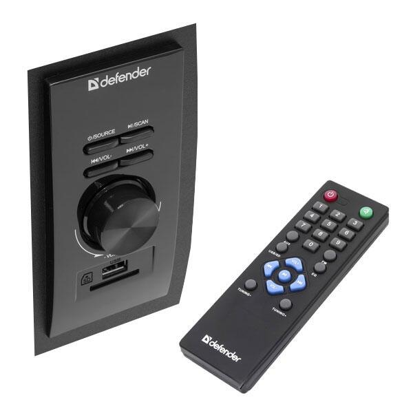 Колонки Dialog Progressive AP-220 BLACK - 2.1 30W+2*12W RMS USB+SD reader