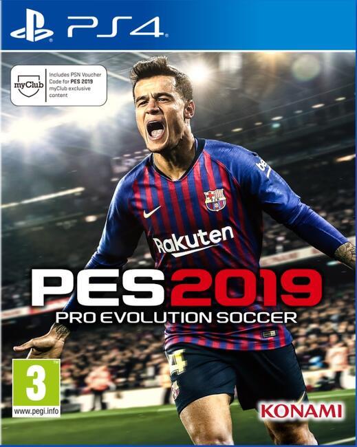 Купить Игра Pro Evolution Soccer 2019 (PS4) в интернет магазине DNS ... c17f7a9021d