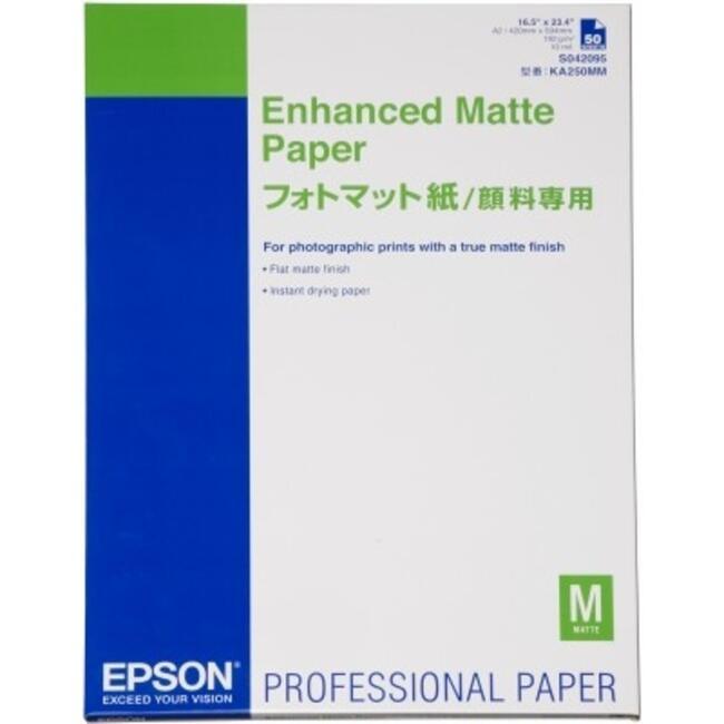 Купить Широкоформатная фотобумага Epson Enhanced Matte Paper в интернет  магазине DNS