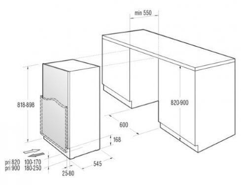 gorenje riu6091aw dns. Black Bedroom Furniture Sets. Home Design Ideas