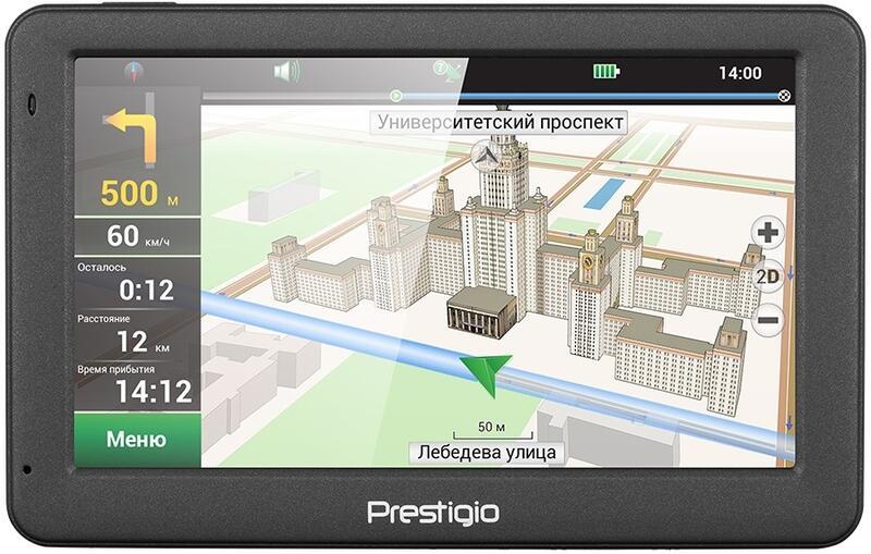 драйвер навигатора prestigio geovision