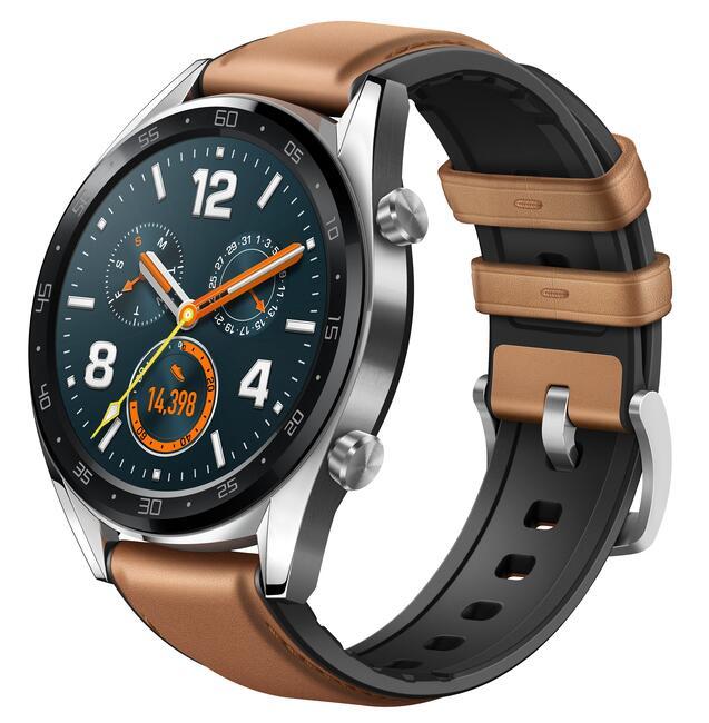 Купить Смарт-часы HUAWEI WATCH GT ремешок - коричневый в интернет ... fad6ad3b3f2