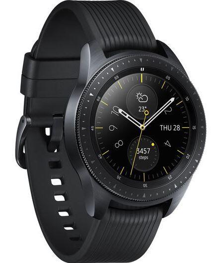 Купить Смарт-часы Samsung Galaxy Watch Small ремешок - черный в ... 785c735969e80