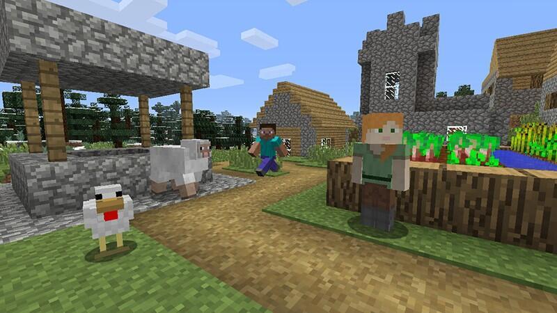 купить игра Minecraft Nintendo Switch в интернет магазине Dns характеристики цена Minecraft 1259658