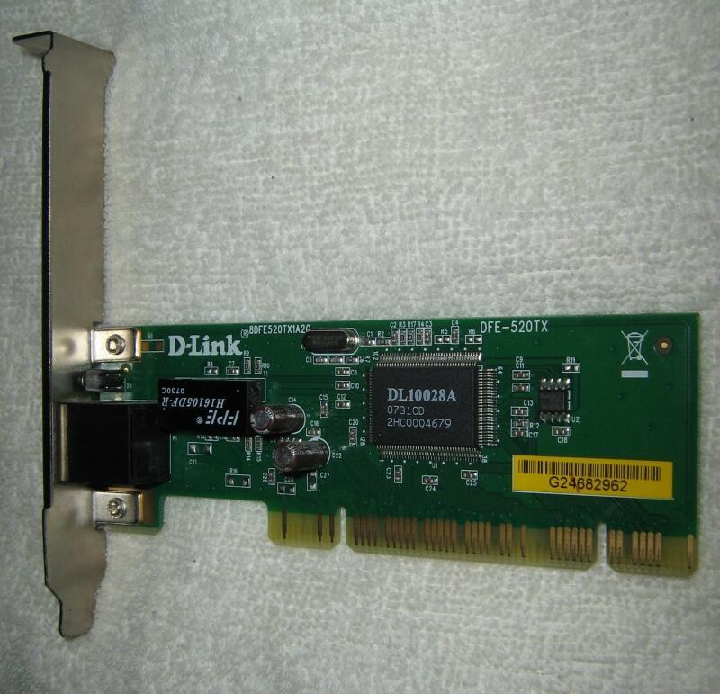 скачать драйвер для сетевая карта d link dfe 520tx