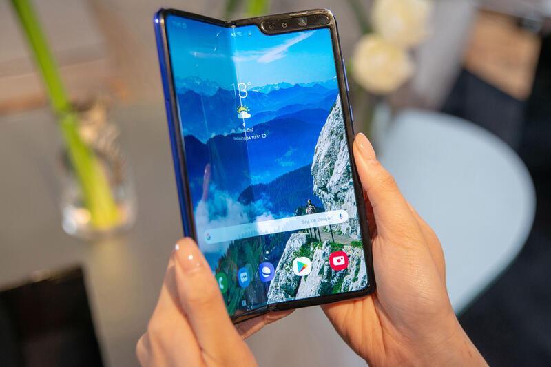 Smartfony i aksessuary - Skladyvayushciesya smartfony ot Samsung, Huawei i Motorola