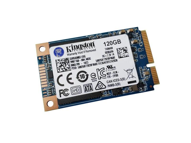 Kompyutery i komplektuyushcie - Obzor SSD-nakopitelya form-faktora mSATA - Kingston UV500 emkostyu 120 GB
