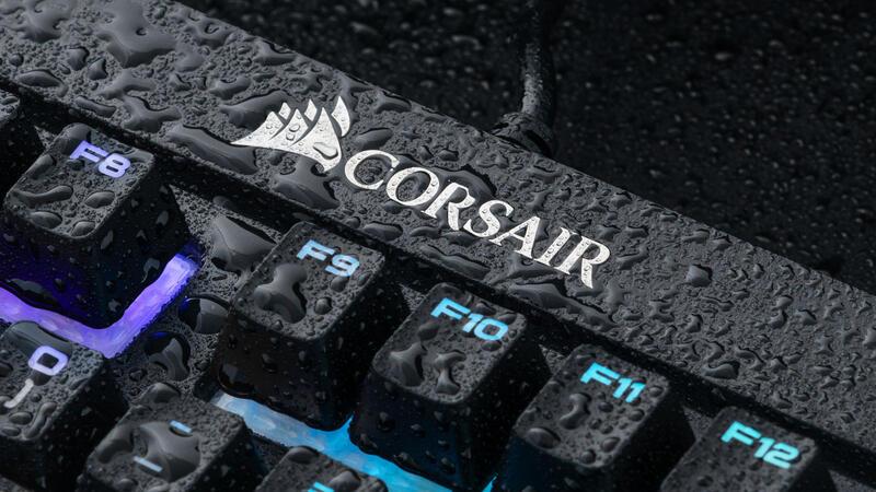 Periferiya - Obzor klaviatury Corsair K68 RGB. Zashcita ot vody v komplekte