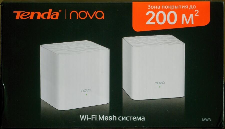 Setevoe oborudovanie - Wi-Fi Mesh-sistema Nova MW3