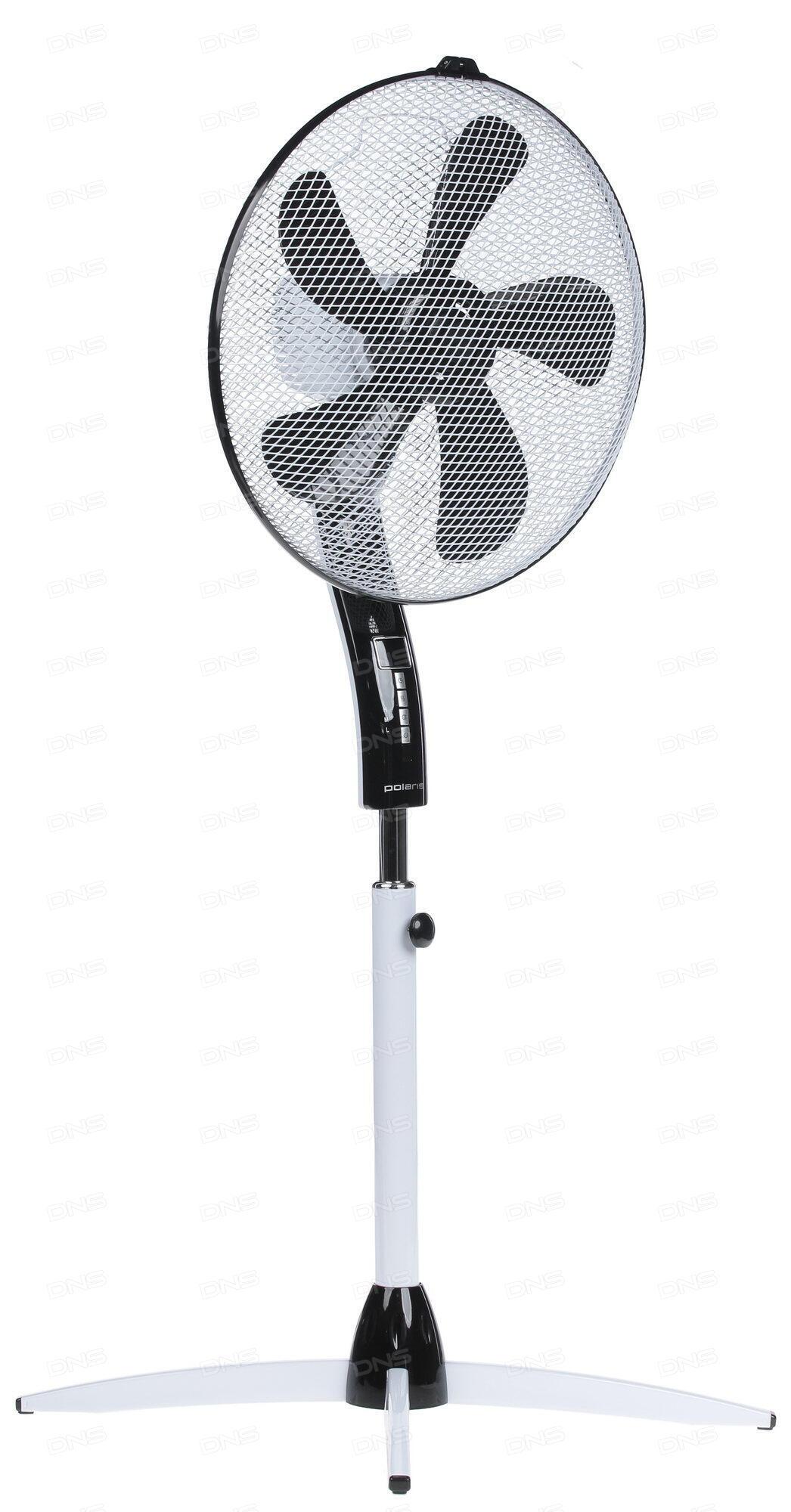 Вентилятор напольный Scarlett SC-SF111B11 38 Вт белый/голубой