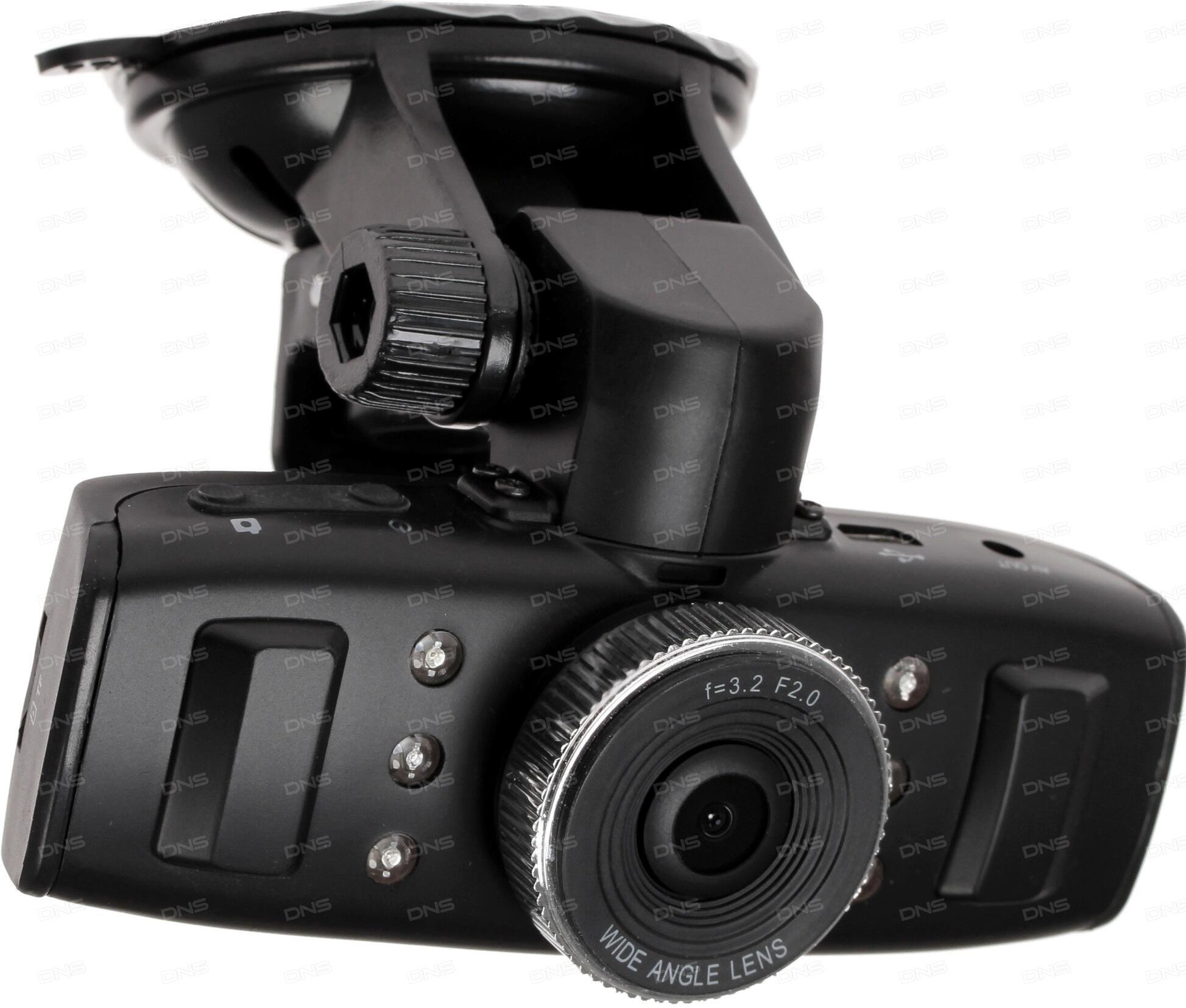 Видеорегистратор SUPRA SCR-930G 640x480 120° G-сенсор GPS без экрана SD SDHC
