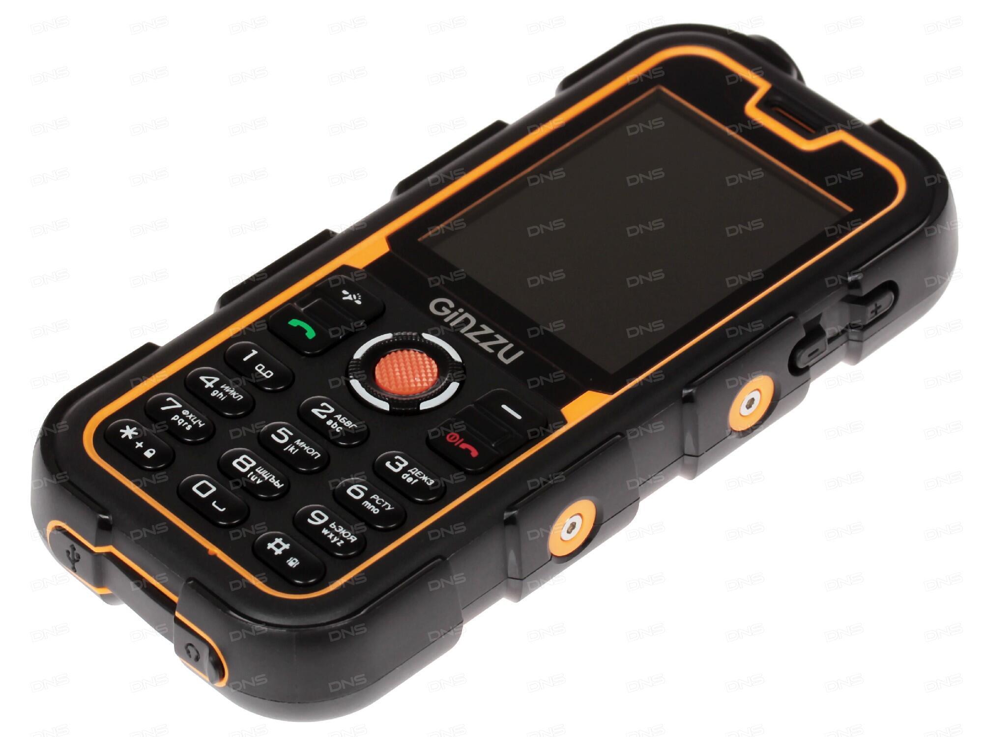 Сотовый телефон Ginzzu M201 White-Gray
