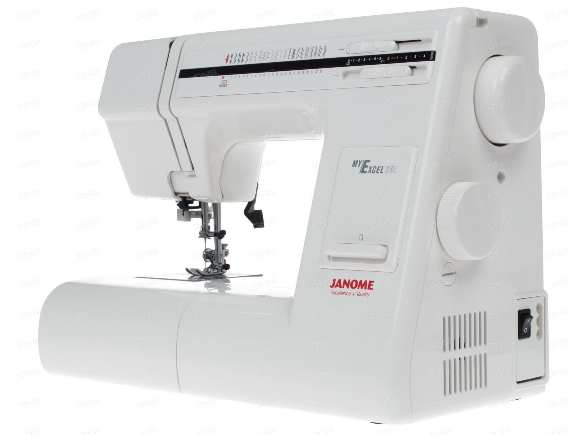 janome my excel 23l user manual