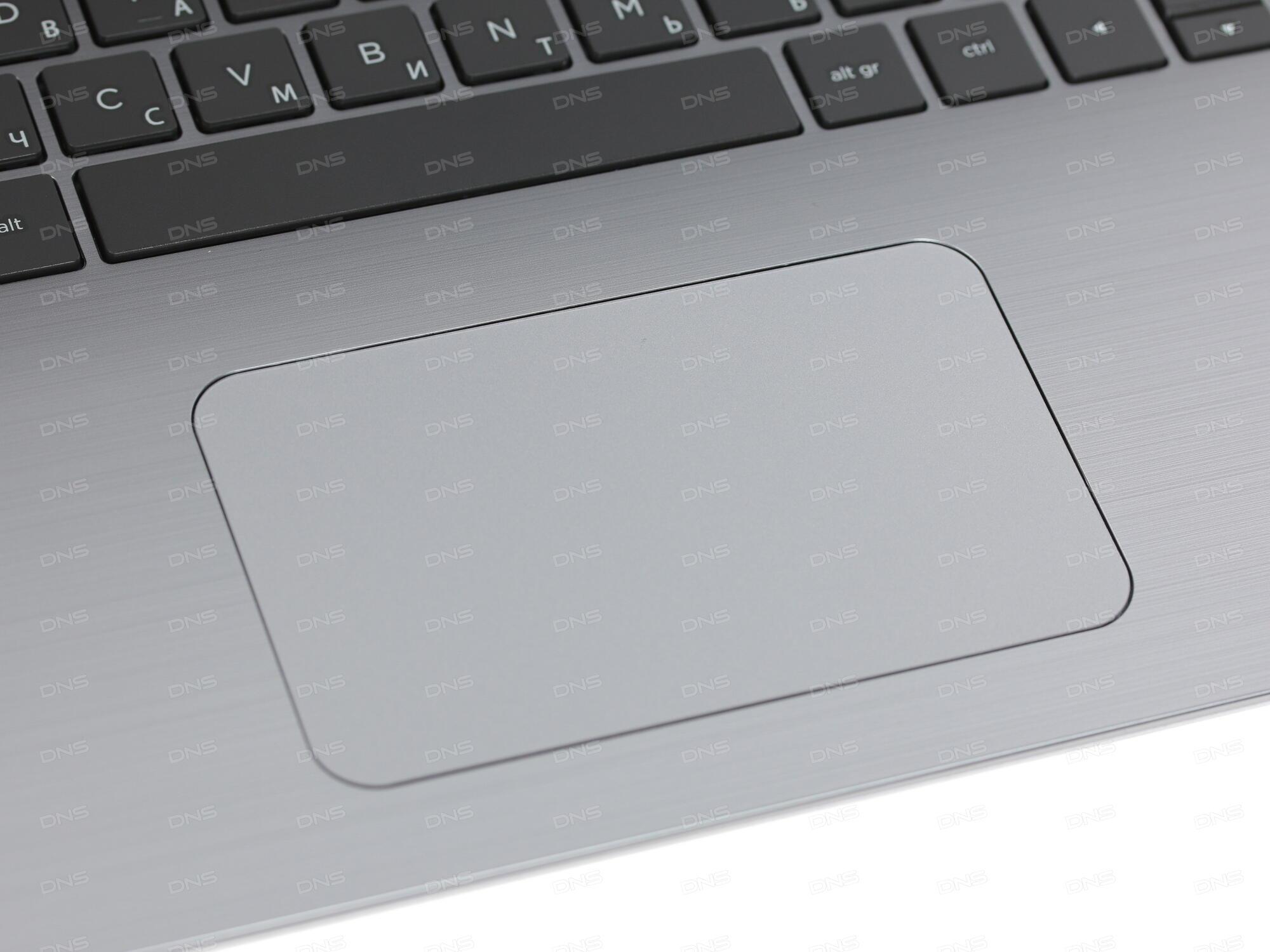 Ноутбук HP 17-bs028ur 2CS57EA (Intel Pentium N3710 1.6 GHz/4096Mb/1000Gb/DVD-RW/AMD Radeon 520 2048Mb/Wi-Fi/Cam/17.3/1600x900/DOS)