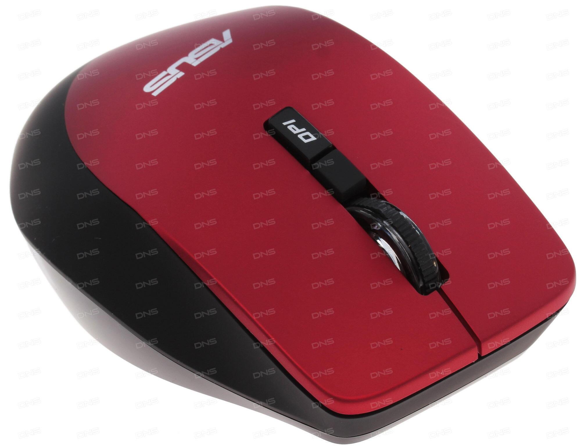 Беспроводная мышь ASUS WT425 2.4GHz/1000dpi/1600dpi/optical/wireless/adapter connects to a USB 2.0/цвет синий