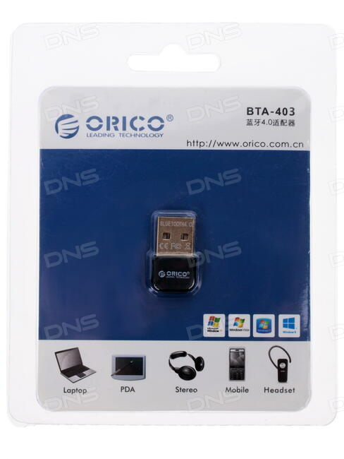 Купить Bluetooth адаптер ORICO BTA-403-BK в интернет магазине DNS   Характеристики, цена ORICO BTA-403-BK | 1051182
