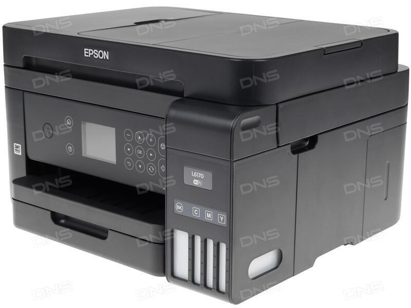 Купить МФУ струйное Epson L6170 в интернет магазине DNS  Характеристики,  цена Epson L6170 | 1222080