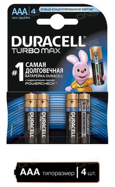 Батарейка duracell turbo lr03 китай каталог