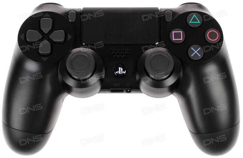 Купить Геймпад PlayStation Dualshock 4 Black Ver 2 черный в интернет  магазине DNS  Характеристики,