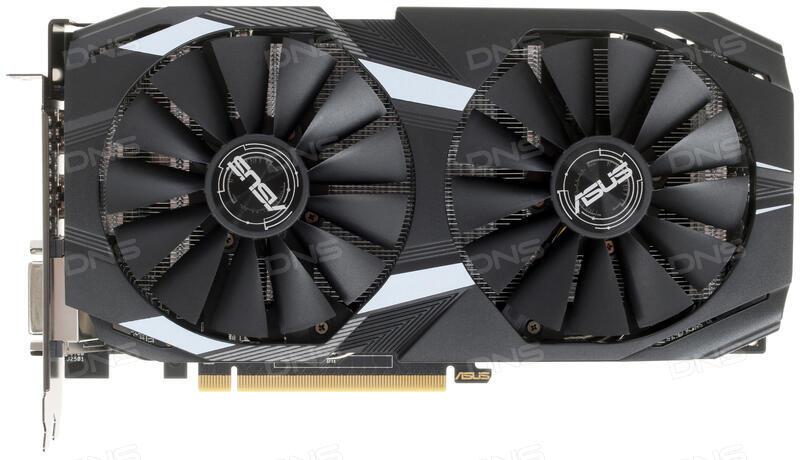 Купить Видеокарта ASUS AMD Radeon RX 580 DUAL OC [DUAL-RX580-O8G] в  интернет магазине DNS