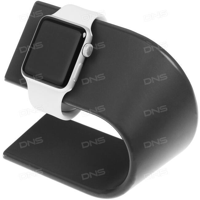 Купить Смарт-часы Apple Watch Series 3 GPS 42mm ремешок - белый в ... dffbb81587198