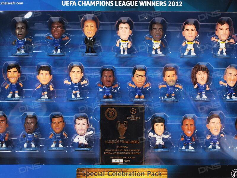 Купить Набор фигурок Soccerstarz Chelsea: Champions League