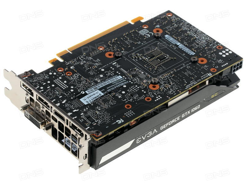 Купить Видеокарта EVGA GeForce GTX 1060 SC GAMING [06G-P4-6163-KR] в  интернет магазине DNS  Характеристики, цена EVGA GeForce GTX 1060 SC GAMING  |
