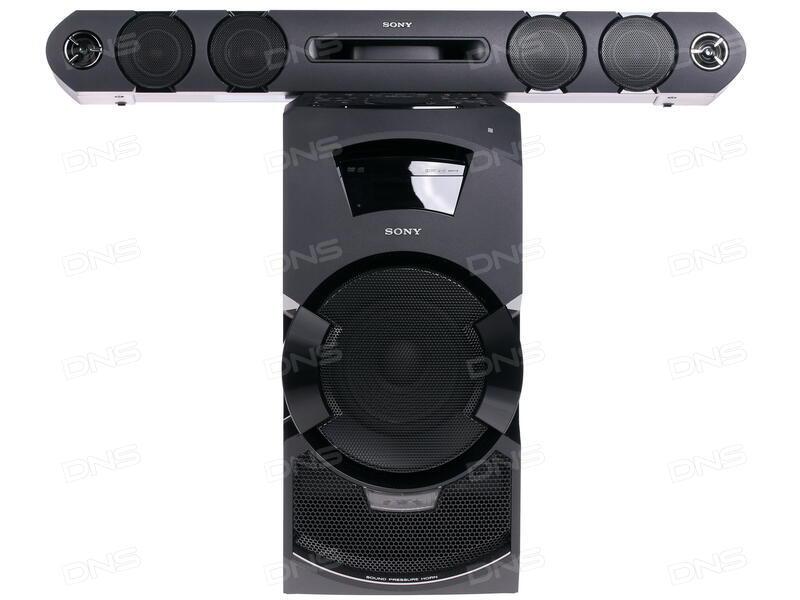 Купить Домашняя аудиосистема Sony MHC-GT3D в интернет магазине DNS ... 2b054b4dee9