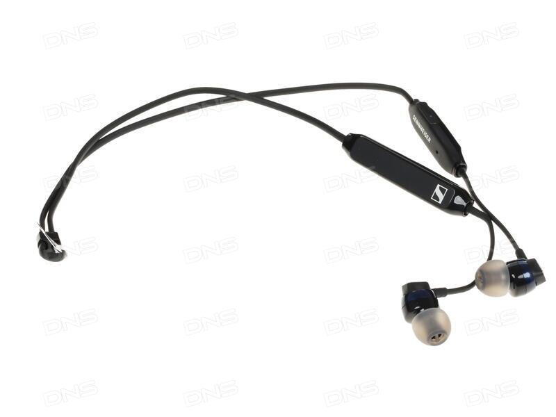 d759b6025c457a Купить Bluetooth стереогарнитура Sennheiser CX 6.00BT черный в ...