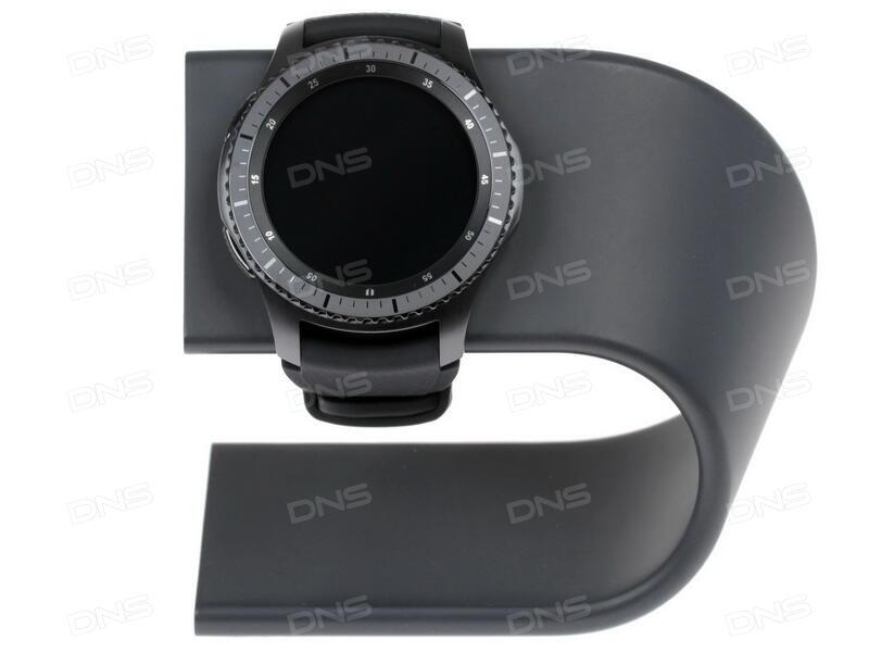 Купить Смарт-часы Samsung Gear S3 Frontier ремешок - черный в ... d976752612115