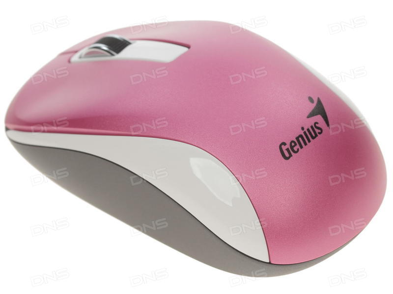 Мышь Genius NX-7010 беспроводная 2,4ГГц 1200dpi Magenta