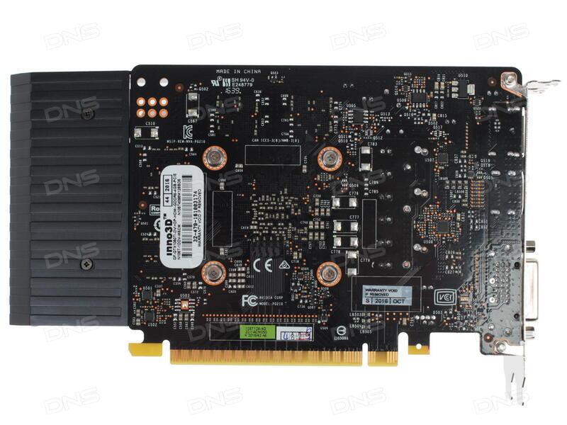 Купить Видеокарта INNO3D GeForce GTX 1050 Ti Twin X2  N105T-1DDV ... ef133a2cf84ad