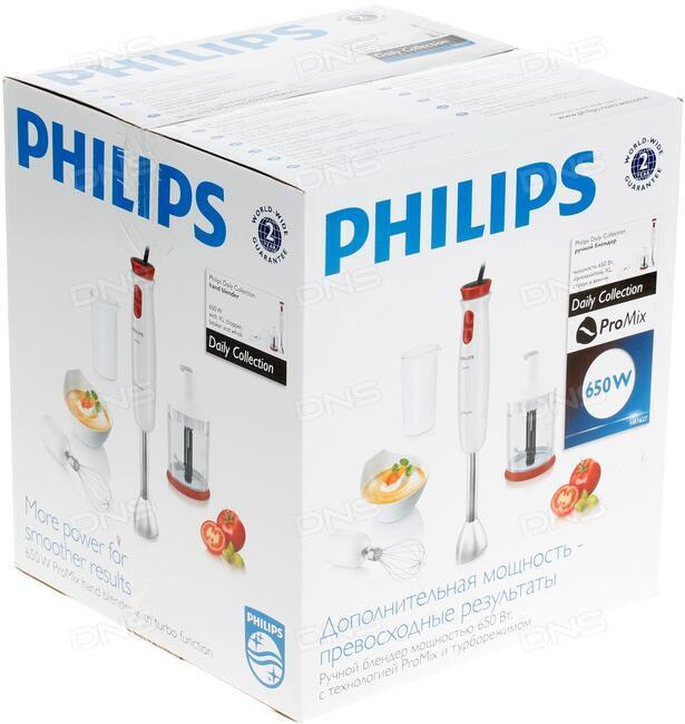 купить блендер Philips Hr162700 белый в интернет магазине Dns