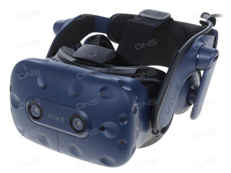 Купить Шлем виртуальной реальности HTC Vive PRO в интернет магазине DNS   Характеристики, цена HTC Vive PRO   1230107