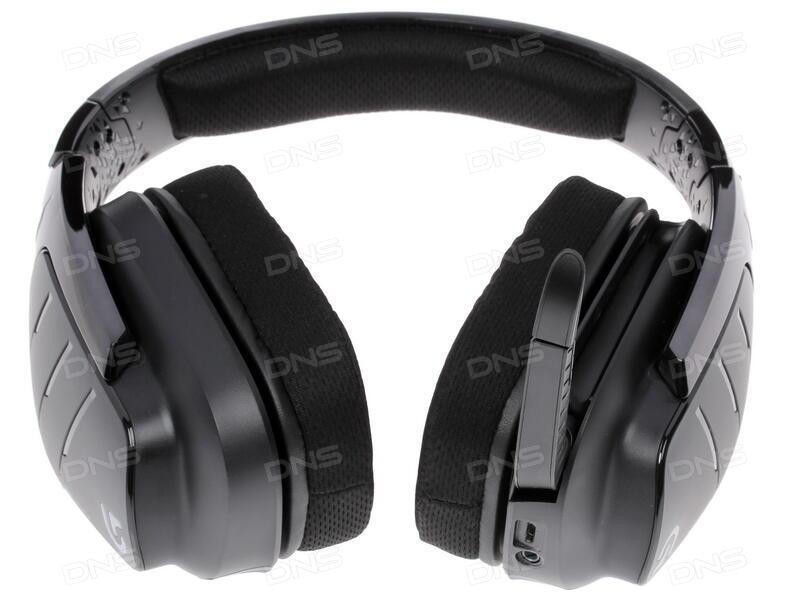 Купить Bluetooth стереогарнитура Logitech G933 черный в интернет магазине  DNS