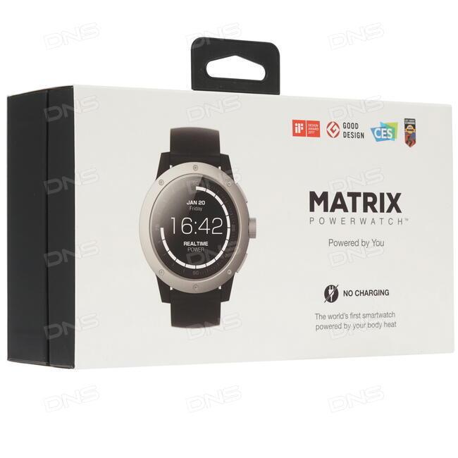 a99b327e Купить Смарт-часы MATRIX PowerWatch ремешок - черный в интернет ...
