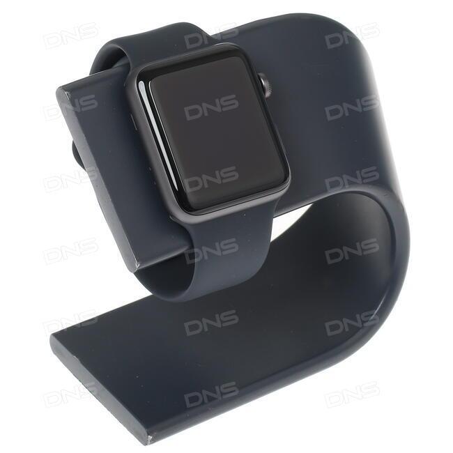 Купить Смарт-часы Apple Watch Series 3 GPS 38mm ремешок - черный в ... 1d3502b6db783