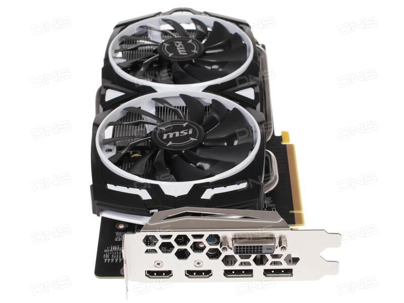 Купить Видеокарта MSI GeForce GTX 1060 ARMOR OC [GTX 1060 ARMOR 6G OCV1] в  интернет магазине DNS