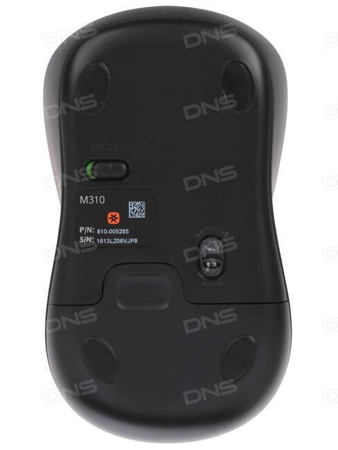6daec1e147b Купить Мышь беспроводная Logitech M310 черный в интернет магазине ...
