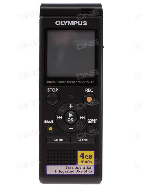 0d0d30a7544 Купить Диктофон Olympus VN-741PC в интернет магазине DNS ...
