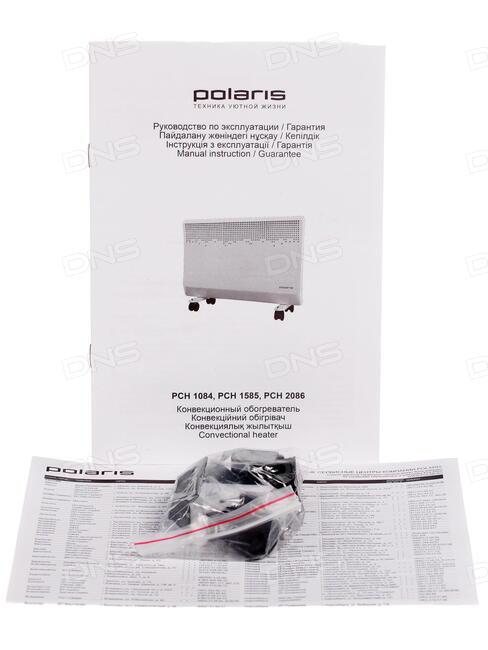конвектор polaris pch 2086 инструкция