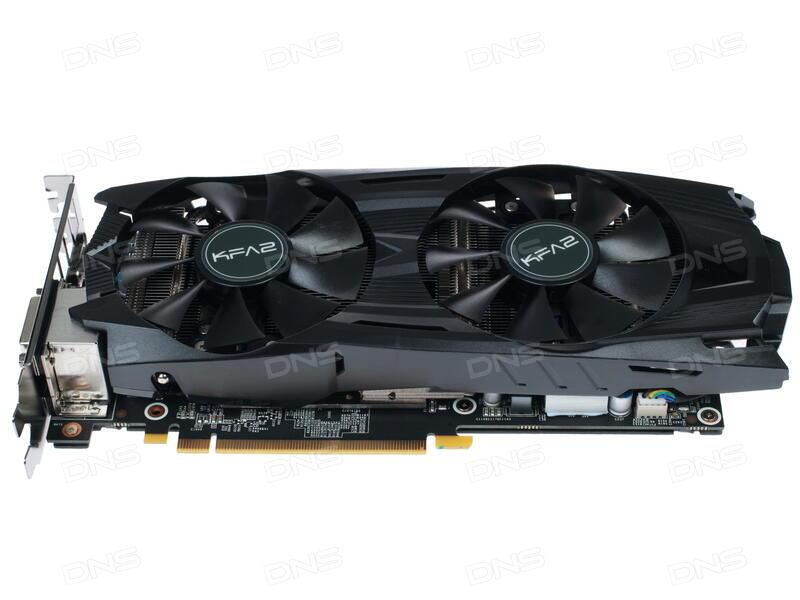 Видеокарта KFA2 GeForce GTX 1070 1518Mhz PCI-E 3.0 8192Mb 8000Mhz 256 bit DVI HDMI HDCP GTX1070 KATANA 7126500