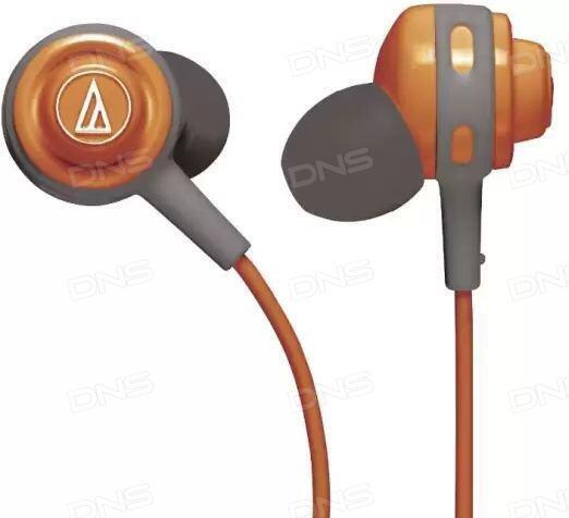 Купить Наушники Audio-Technica ATH-COR150 оранжевый в интернет ... 7d923a7916b6c