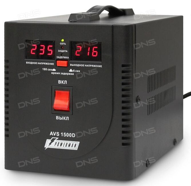 Стабилизатор напряжения avs 1500 d сетевой микропроцессорный стабилизатор напряжения