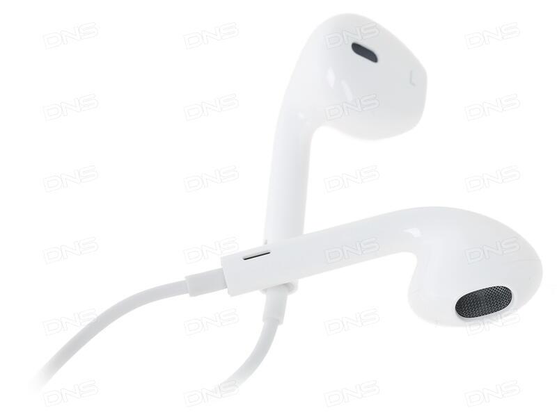 Купить Проводная стереогарнитура Apple EarPods (3.5 mm) белый в ... 05b9b60163957