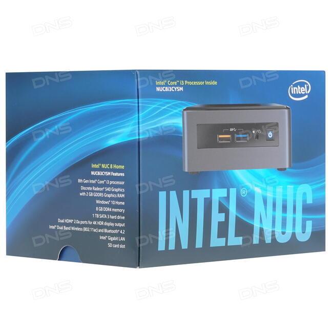 Купить Неттоп Intel NUC 8 Enthusiast [BOXNUC8i3CYSM2] в интернет магазине  DNS  Характеристики, цена