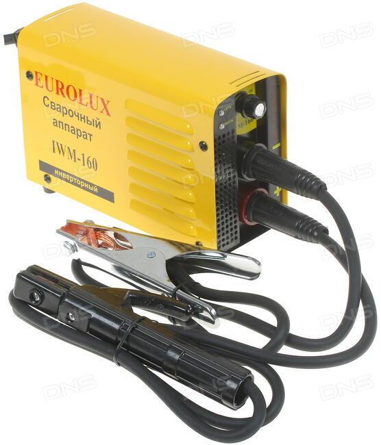 Сварочный аппарат eurolux iwm160 отзывы стабилизатор напряжения 1600