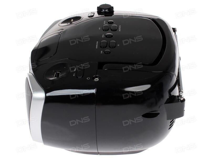 Магнитола Supra BB-29MUS черный