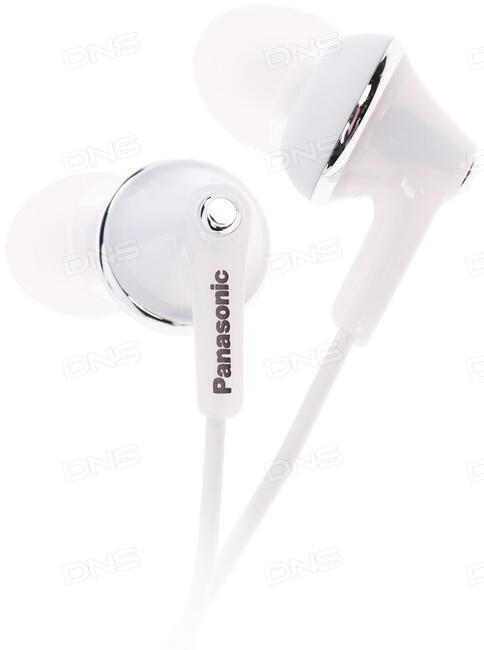 купить наушники Panasonic Rp Hje190e W белый в интернет магазине Dns